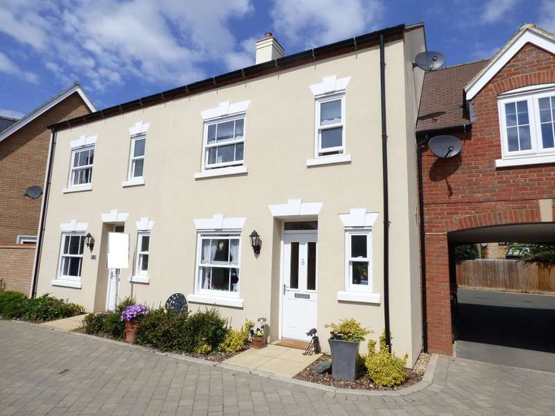 3 Bedrooms Terraced House for sale in Midsummer Grove, Bedford, Beds, MK40 4SE