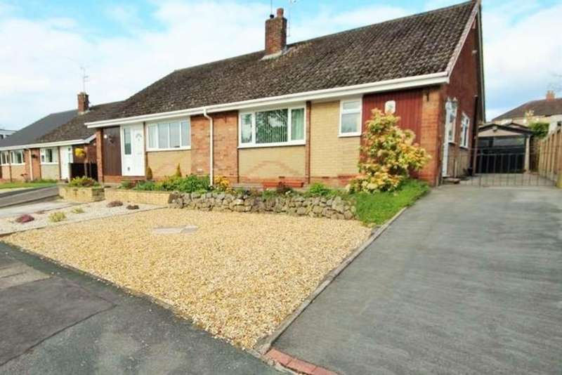 3 Bedrooms Semi Detached Bungalow for sale in East Bank Ride,Forsbrook