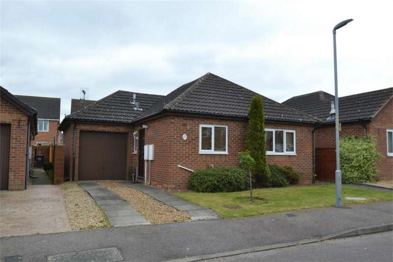 2 Bedrooms Detached Bungalow for sale in Waltham Close, Corby, Northamptonshire