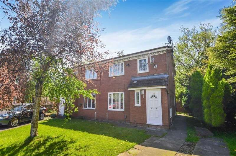3 Bedrooms Semi Detached House for sale in Brotherton Drive, Trinity, Salford, M3