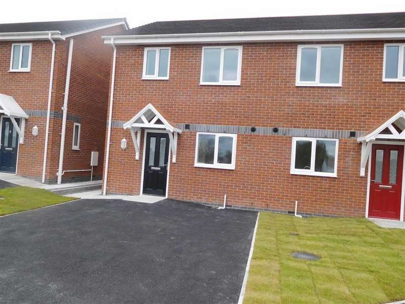 2 Bedrooms Semi Detached House for sale in Wern Lane, Rhosllanerchrugog, Wrexham