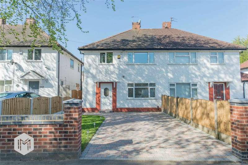 3 Bedrooms Semi Detached House for sale in Old Clough Lane, Worsley, Manchester