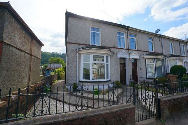 3 Bedrooms End Of Terrace House for sale in Cobden Street, Cross Keys, NEWPORT, Caerphilly