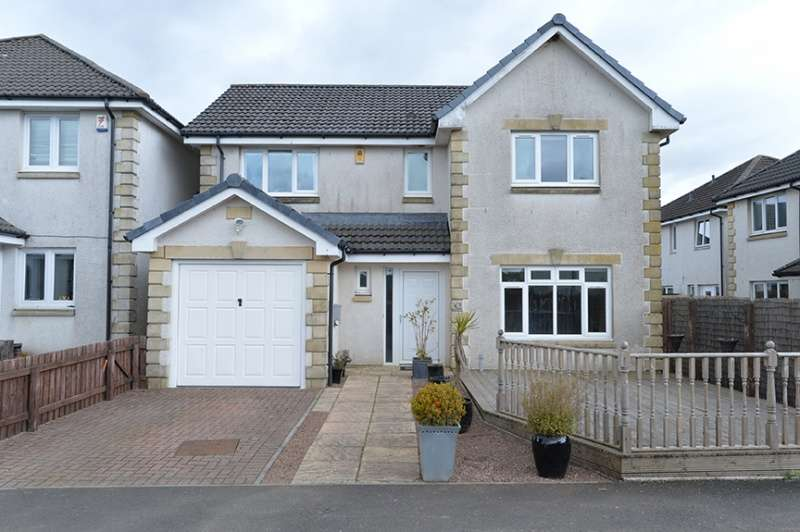 4 Bedrooms Detached House for sale in Ross Court, Addiewell, West Lothian, EH55 8HE