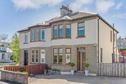 4 Bedrooms Semi Detached House for sale in Clyde Road, Gourock