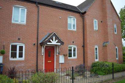 3 Bedrooms Terraced House for sale in Rayson Close, Streethay, Lichfield