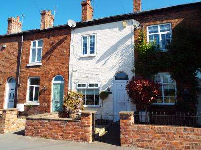 2 Bedrooms Terraced House for sale in Greenwood Terrace, Town Lane, Mobberley, Knutsford