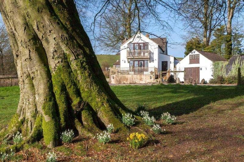 4 Bedrooms Detached House for sale in Haydon Drove, Haydon, Wells, Somerset, BA5
