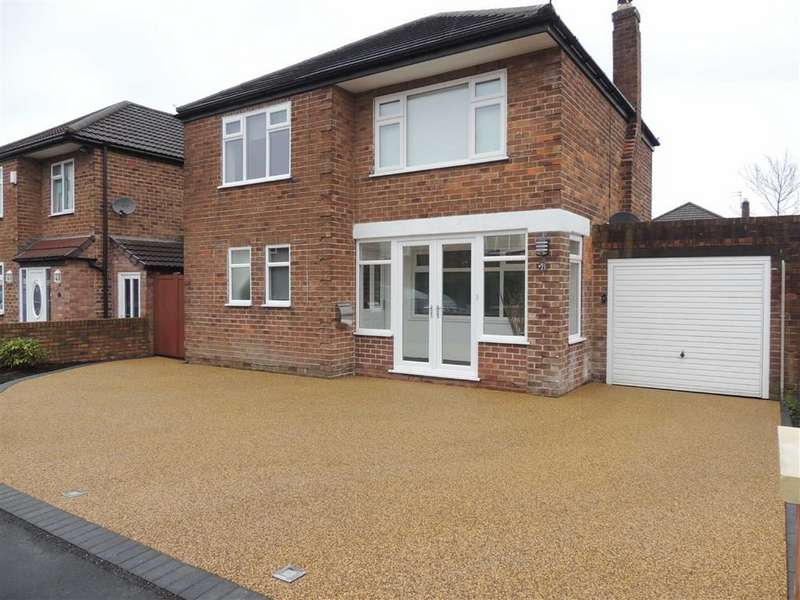 3 Bedrooms Detached House for sale in Longnor Road, Hazel Grove, Stockport