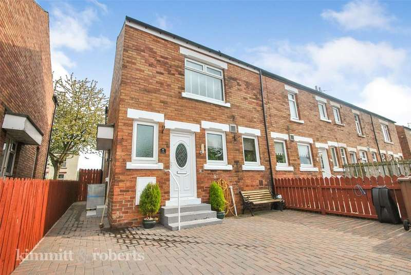 2 Bedrooms End Of Terrace House for sale in Gladstone Street, Houghton le Spring, Tyne and Wear, DH4
