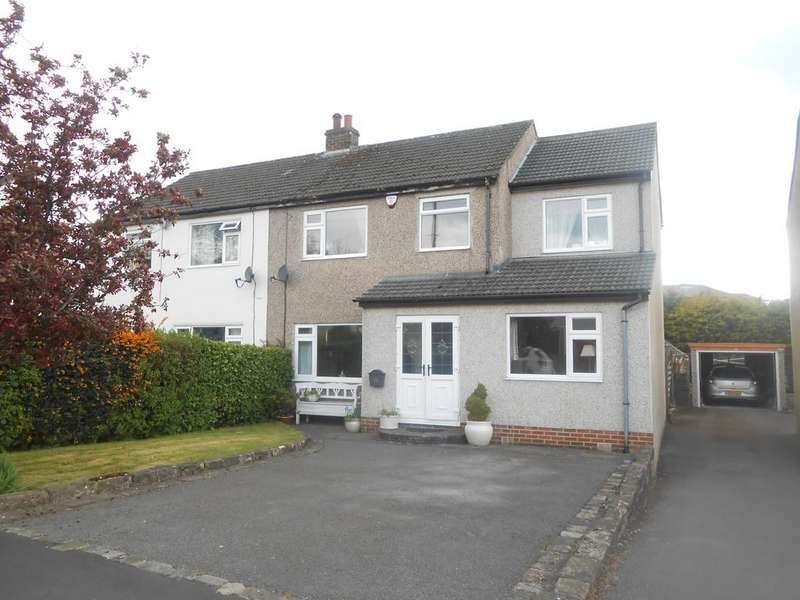 4 Bedrooms Semi Detached House for sale in Hallowes Park Road, Cullingworth BD13