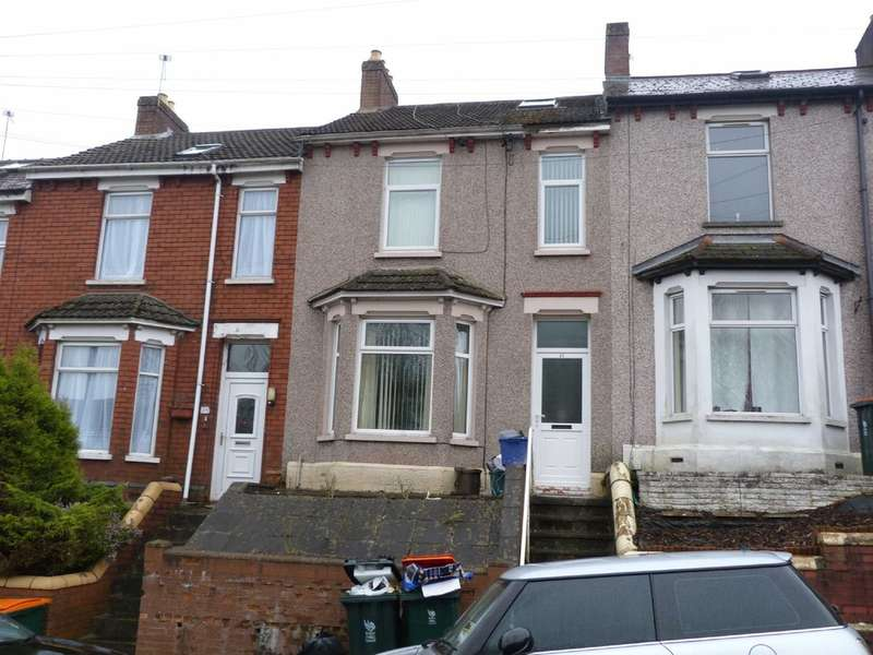 3 Bedrooms Terraced House for sale in Barrack Hill, Newport