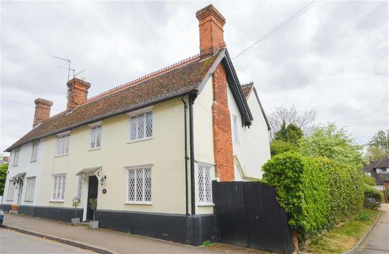 4 Bedrooms Semi Detached House for sale in High Street, Barkway, Hertfordshire, SG8