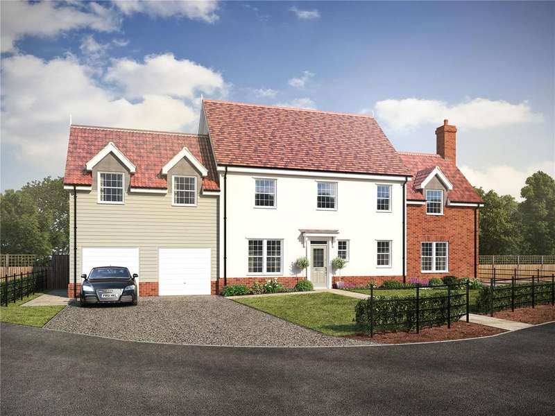 5 Bedrooms Detached House for sale in Plot 13 - Straight Road, Foxhall, Ipswich, Suffolk, IP3