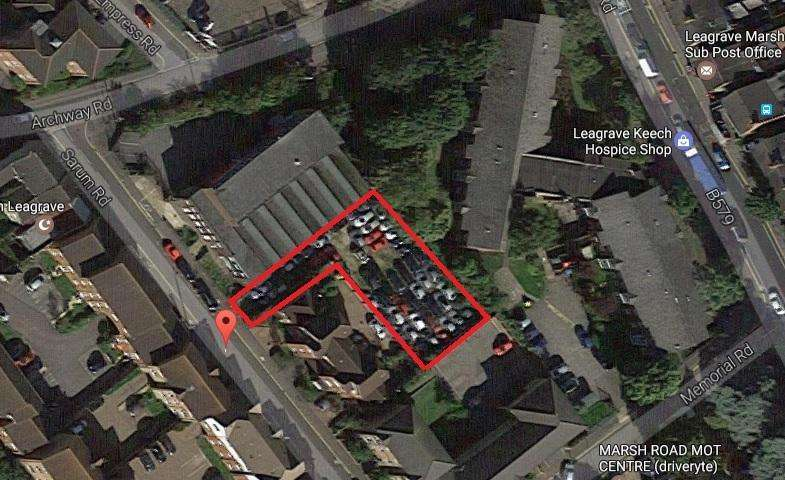 Land Commercial for sale in Sarum Road, Luton, Bedfordshire, LU3 2RA