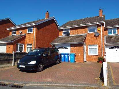 3 Bedrooms Semi Detached House for sale in Fountains Close, Brookvale, Runcorn, Cheshire, WA7