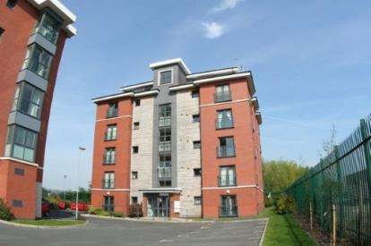 2 Bedrooms Flat for sale in Bailey Court, Central Way, Warrington, Cheshire, WA2