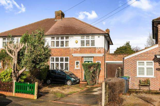 3 Bedrooms Semi Detached House for sale in Worcester Park, ., Surrey