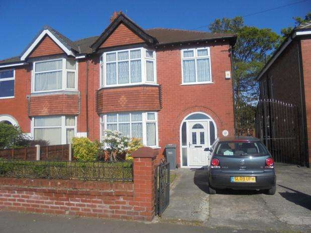 3 Bedrooms Semi Detached House for sale in Burnage Lane, Manchester, M19