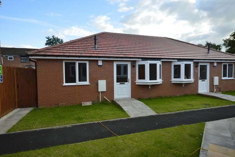 2 Bedrooms Semi Detached Bungalow for sale in Glentworth Gardens, Wolverhampton, WV6