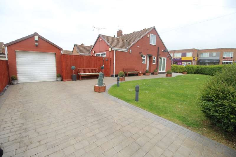 2 Bedrooms Semi Detached Bungalow for sale in Otterburn Gardens, MIDDLESBROUGH, TS5