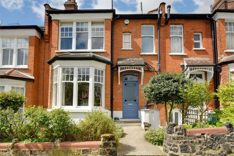 4 Bedrooms Terraced House for sale in Collingwood Avenue, Muswell Hill, London