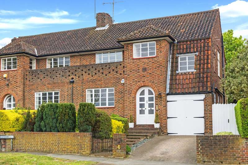 4 Bedrooms House for sale in Deansway, Hampstead Garden Suburb