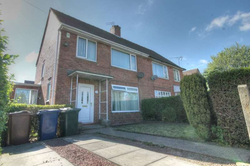 3 Bedrooms Semi Detached House for sale in Sunnyway, Blakelaw, Newcastle Upon Tyne, NE5