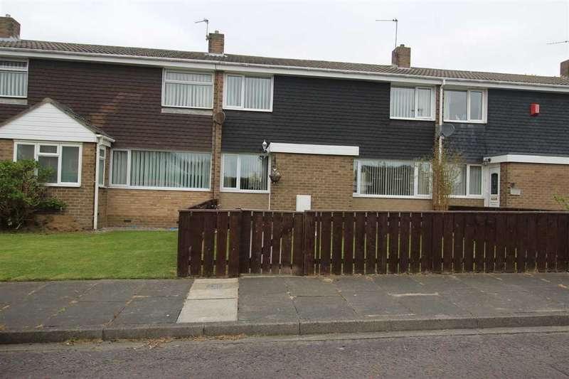 3 Bedrooms Terraced House for sale in Monkside, Stonelaw Dale, Cramlington