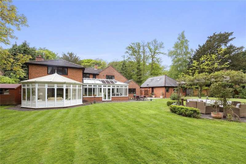 5 Bedrooms Detached House for sale in Seven Hills Road, Cobham, Surrey, KT11