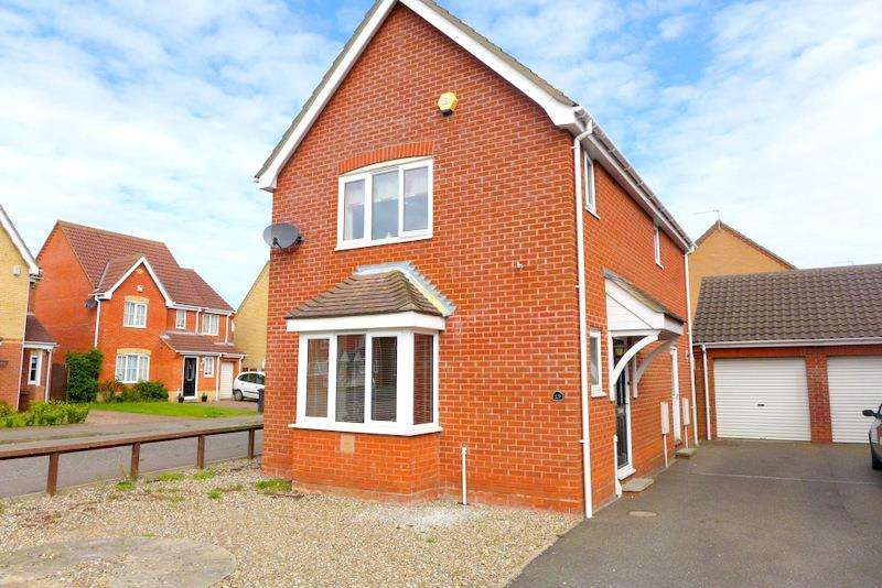 3 Bedrooms Detached House for sale in Rodber Way, Lowestoft
