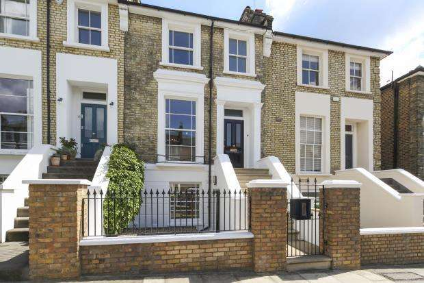 4 Bedrooms Terraced House for sale in Marquis Road, London, NW1