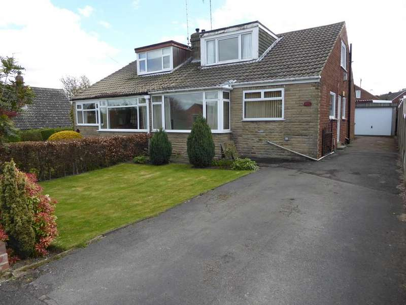 3 Bedrooms Semi Detached Bungalow for sale in Brandy Carr Road, Kirkhamgate