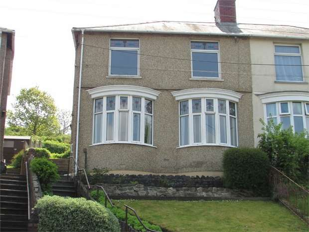 3 Bedrooms Semi Detached House for sale in Danygraig Road, Melyn, Neath, West Glamorgan