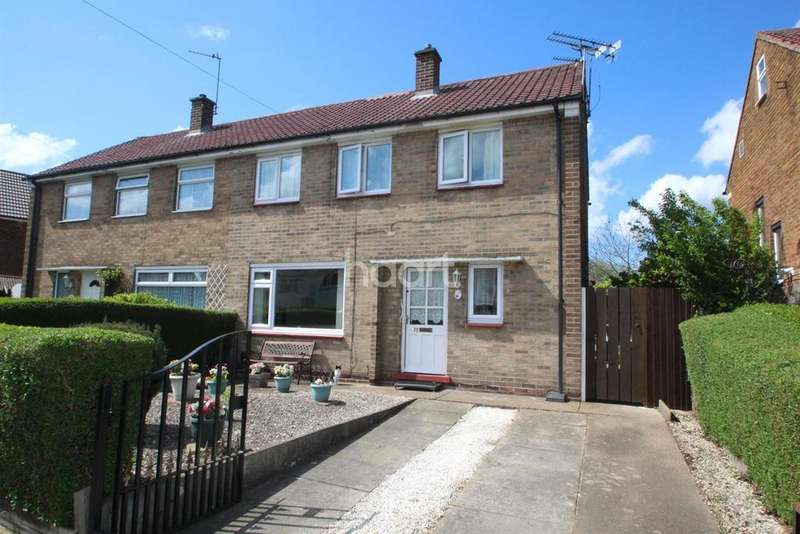 3 Bedrooms Semi Detached House for sale in Oxborough Road, Arnold, Nottingham
