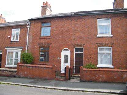2 Bedrooms Terraced House for sale in Walthall Street, Crewe, Cheshire, England