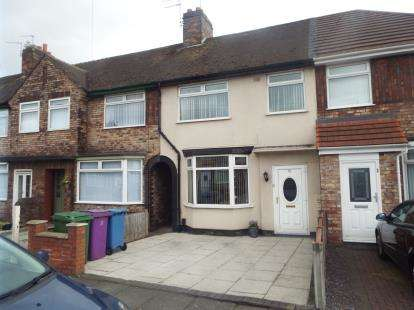 3 Bedrooms Terraced House for sale in Rudyard Road, Liverpool, Merseyside, L14