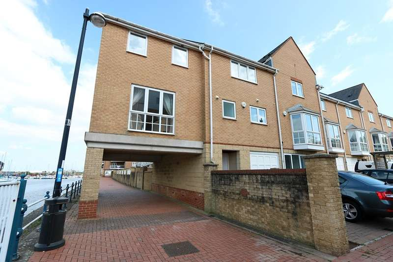 4 Bedrooms Semi Detached House for sale in Pierhead View, Penarth Marina