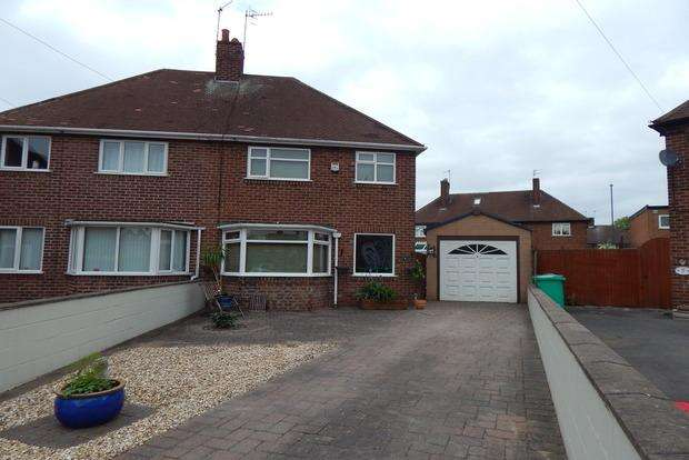 3 Bedrooms Semi Detached House for sale in Darvel Close, Beechdale, Nottingham, NG8
