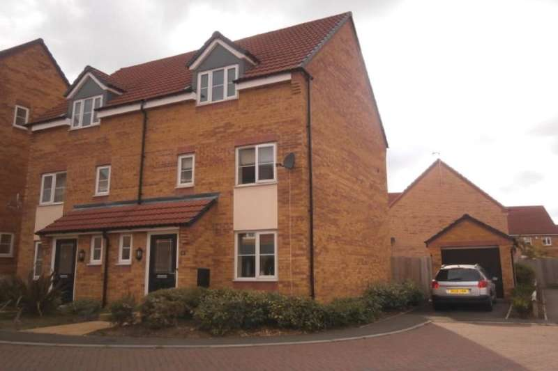 3 Bedrooms Semi Detached House for sale in Wellingar Close, Thorpe Astley,Braunstone, Leicester, LE3