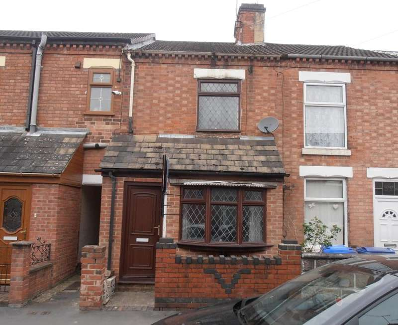 3 Bedrooms Terraced House for sale in Grange Street, Burton-on-Trent, Staffordshire, DE14 2ER