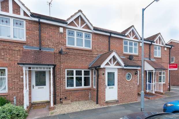 2 Bedrooms Terraced House for sale in Blatchford Court, Clifton Moor, YORK