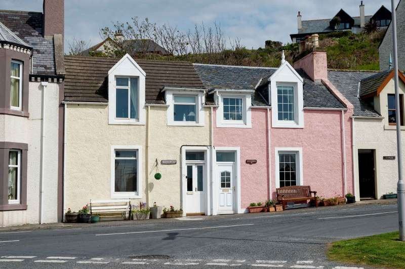 3 Bedrooms Terraced House for sale in 13 South Crescent, Portpatrick, Dumfries and Galloway, DG9 8JR