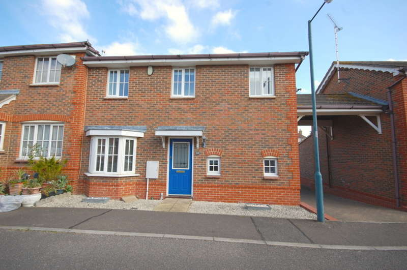 2 Bedrooms End Of Terrace House for sale in Silvester Way, Chancellor Park, Chelmsford, CM2