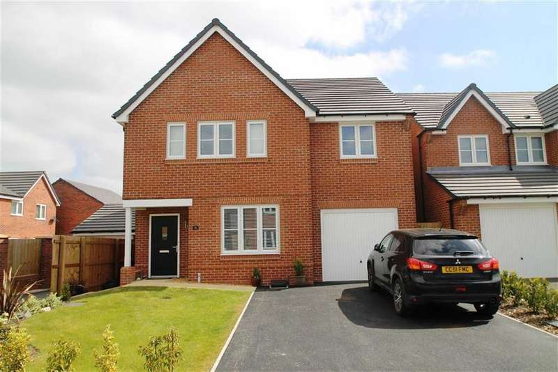 4 Bedrooms Detached House for sale in Messham Close, Broughton