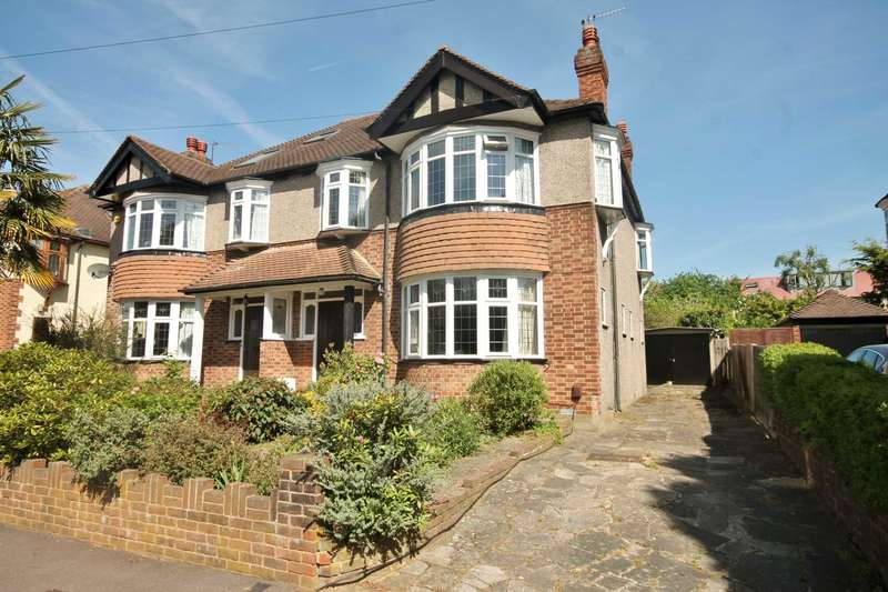 4 Bedrooms Semi Detached House for sale in Cromford Way, New Malden