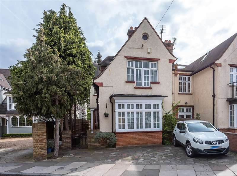 4 Bedrooms Semi Detached House for sale in Waldegrave Road, Strawberry Hill, TW1