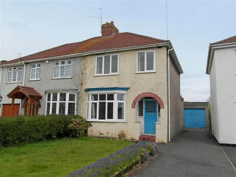 3 Bedrooms Semi Detached House for sale in Watleys End Road, Winterbourne, Bristol