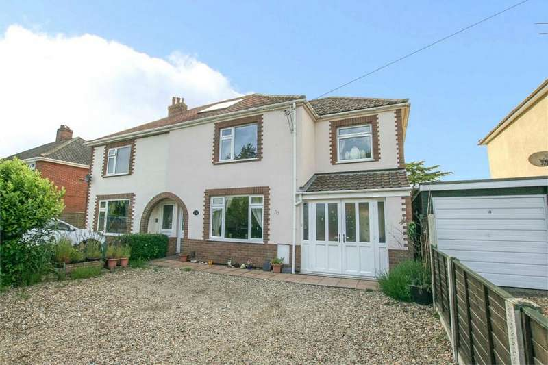 3 Bedrooms Semi Detached House for sale in Middletons Lane, Hellesdon, Norwich, Norfolk