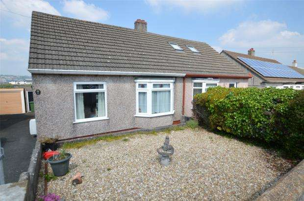 2 Bedrooms Semi Detached Bungalow for sale in Villiers Close, Plymouth, Devon